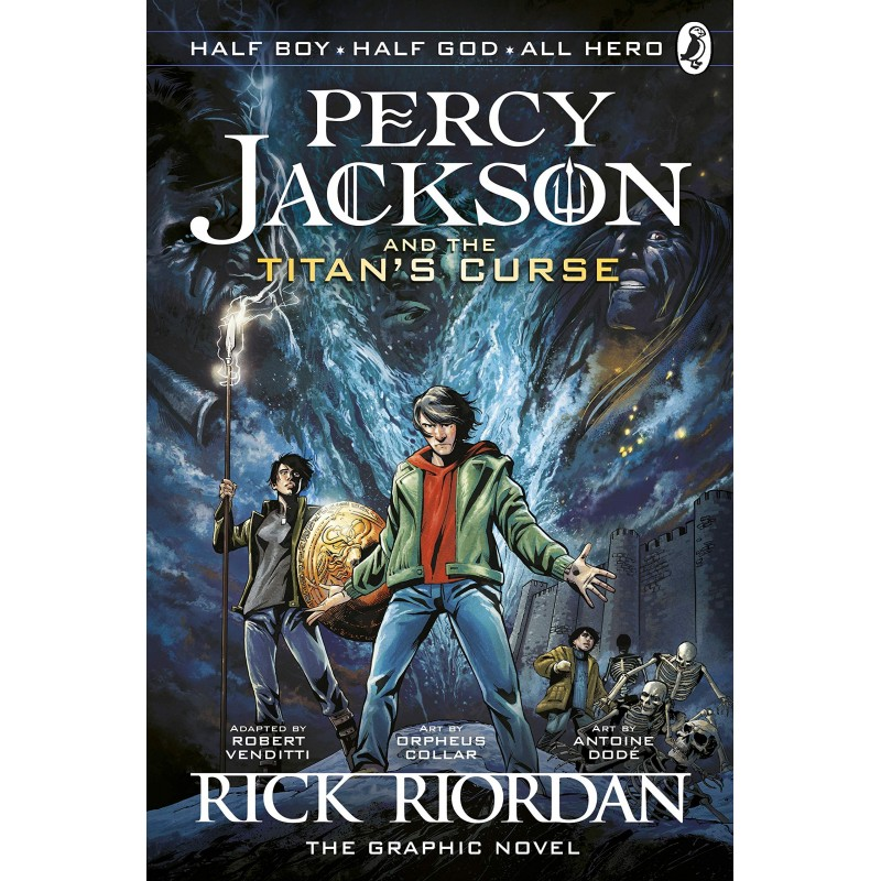 Percy Jackson and the Titan's Curse - The Graphic Novel