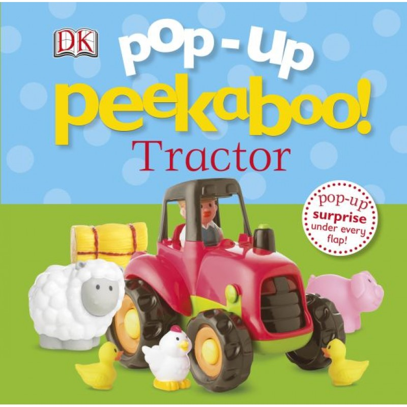 Pop-Up Peakaboo! Tractor