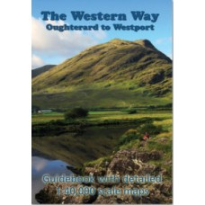 The Western Way - Oughterard to Westport - Guidebook with Detailed Map