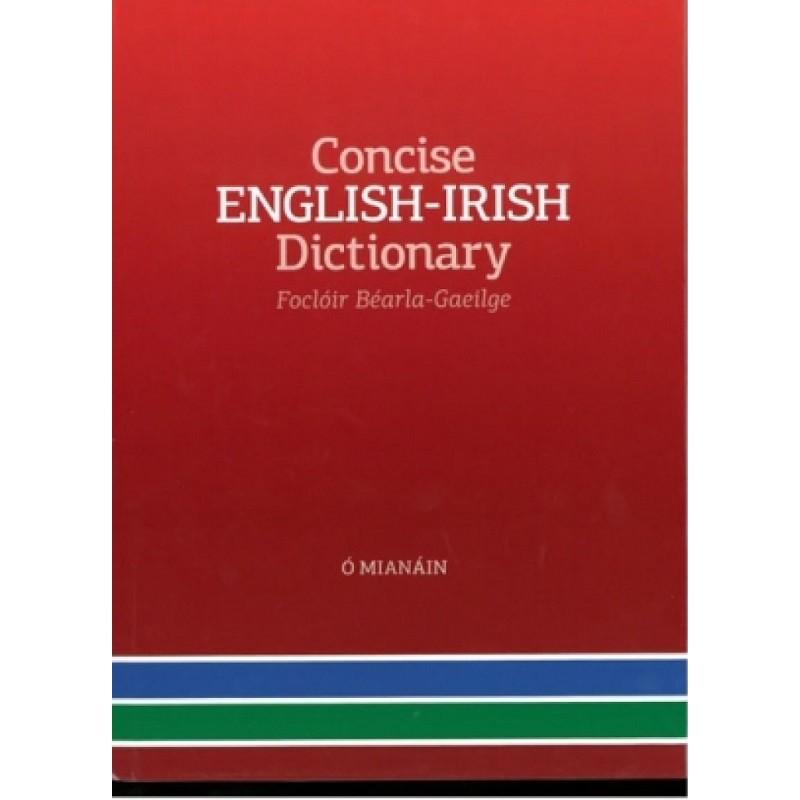Concise English-Irish Dictionary