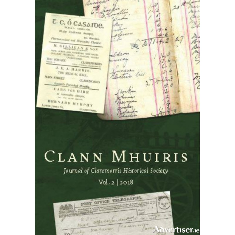 Clann Mhuiris- Journal of Claremorris Historical Society.