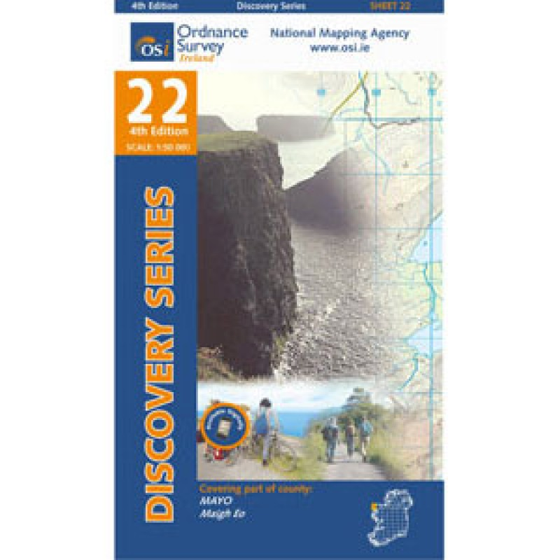 Ordnance Survey Ireland Discovery Series No. 22