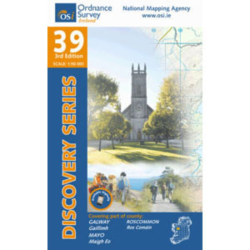 Ordnance Survey Ireland Discovery Series No. 39