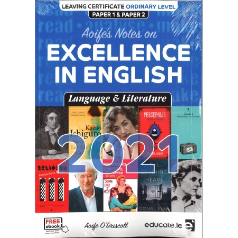 Excellence in English 2021- Language and Literature
