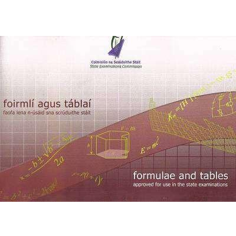 Formulae and Tables