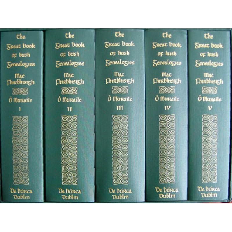 The Great Book of Irish Genealogies